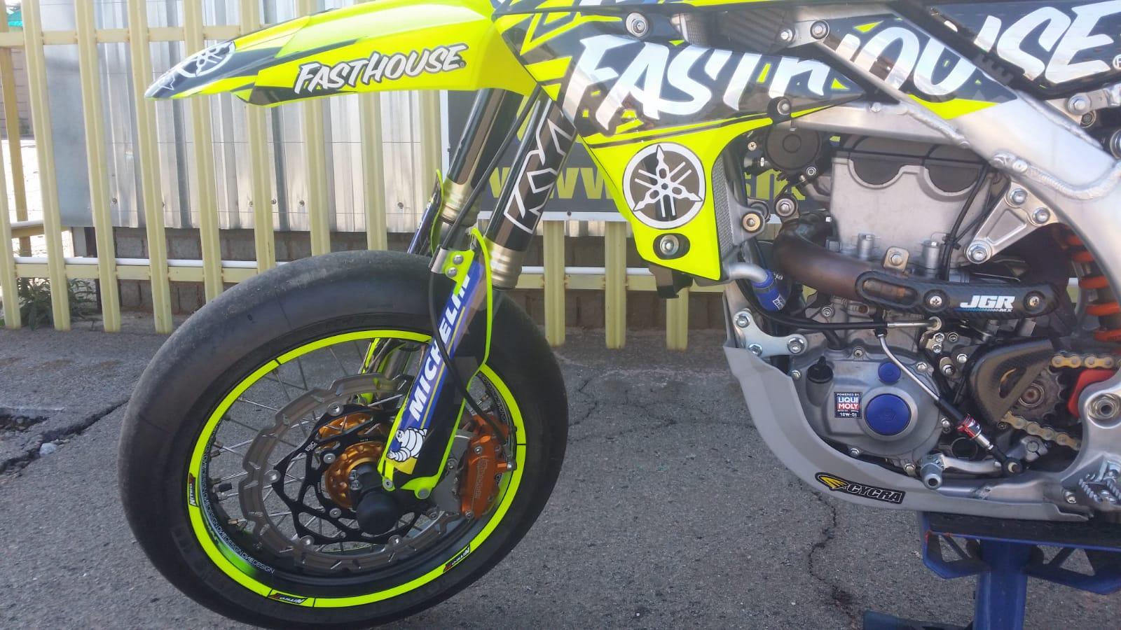 2019 Yamaha 450 Motard