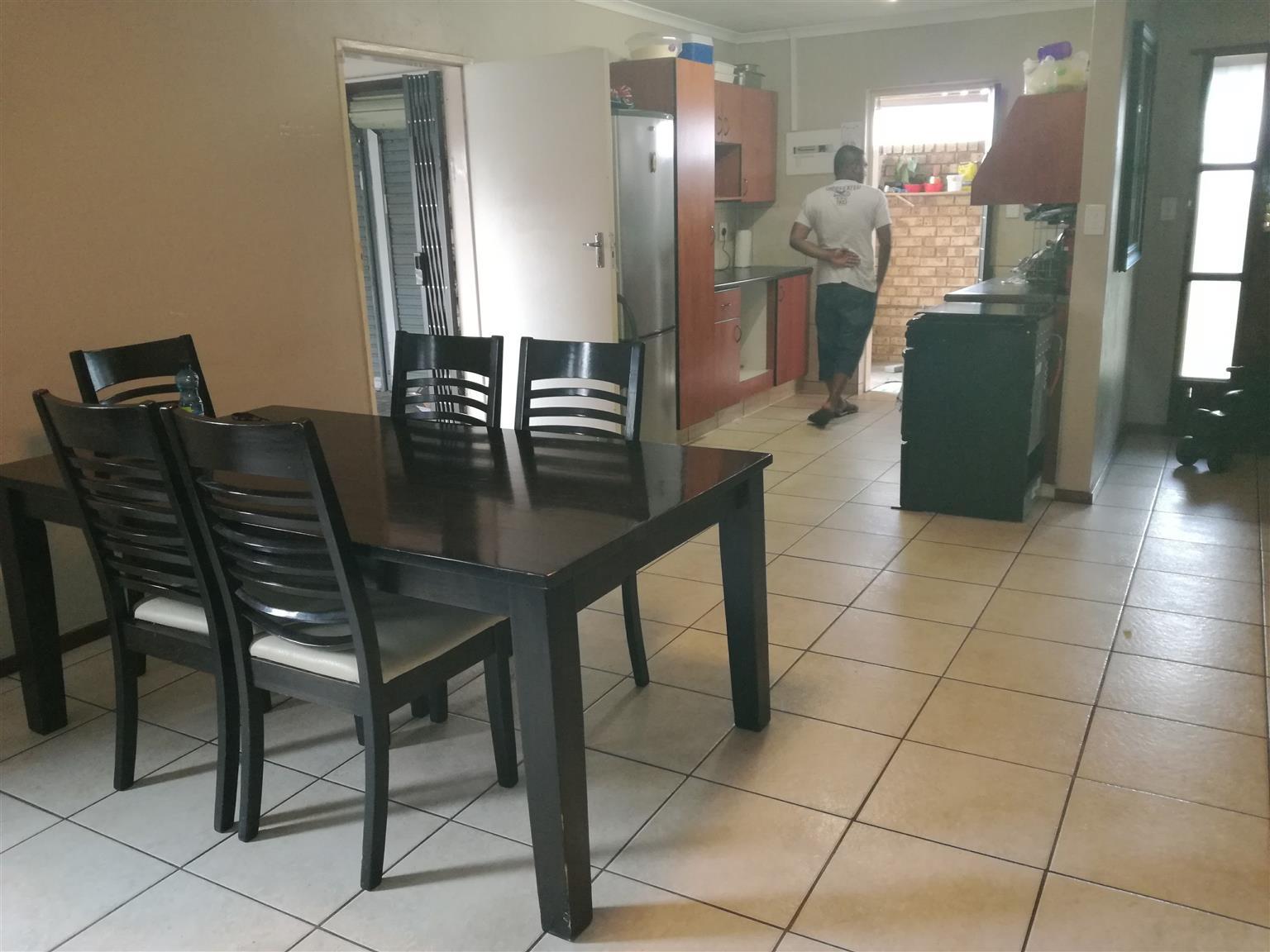 3 Bedroom Cluster in Kempton Park to rent- R9 000 neg