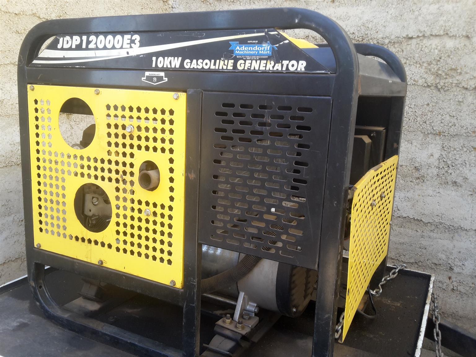 3 Phase 12KVA petrol power generator