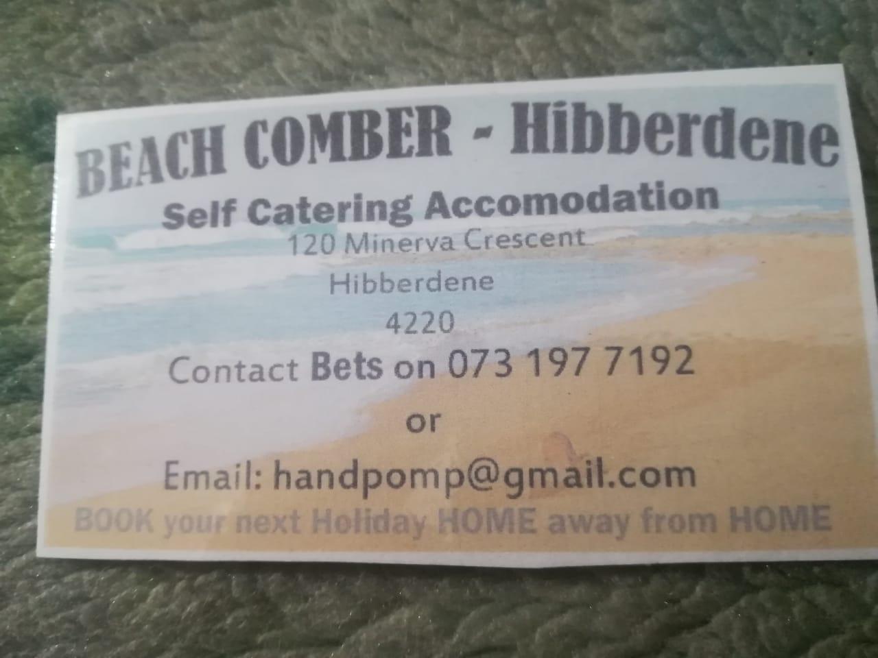 Beach Comber - Hibberdene