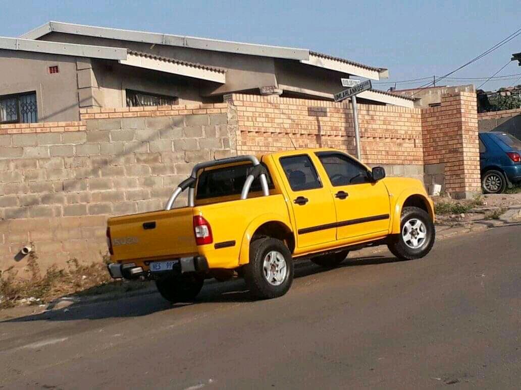 2007 Isuzu KB double cab KB 250 D TEQ HO LE PU D/C