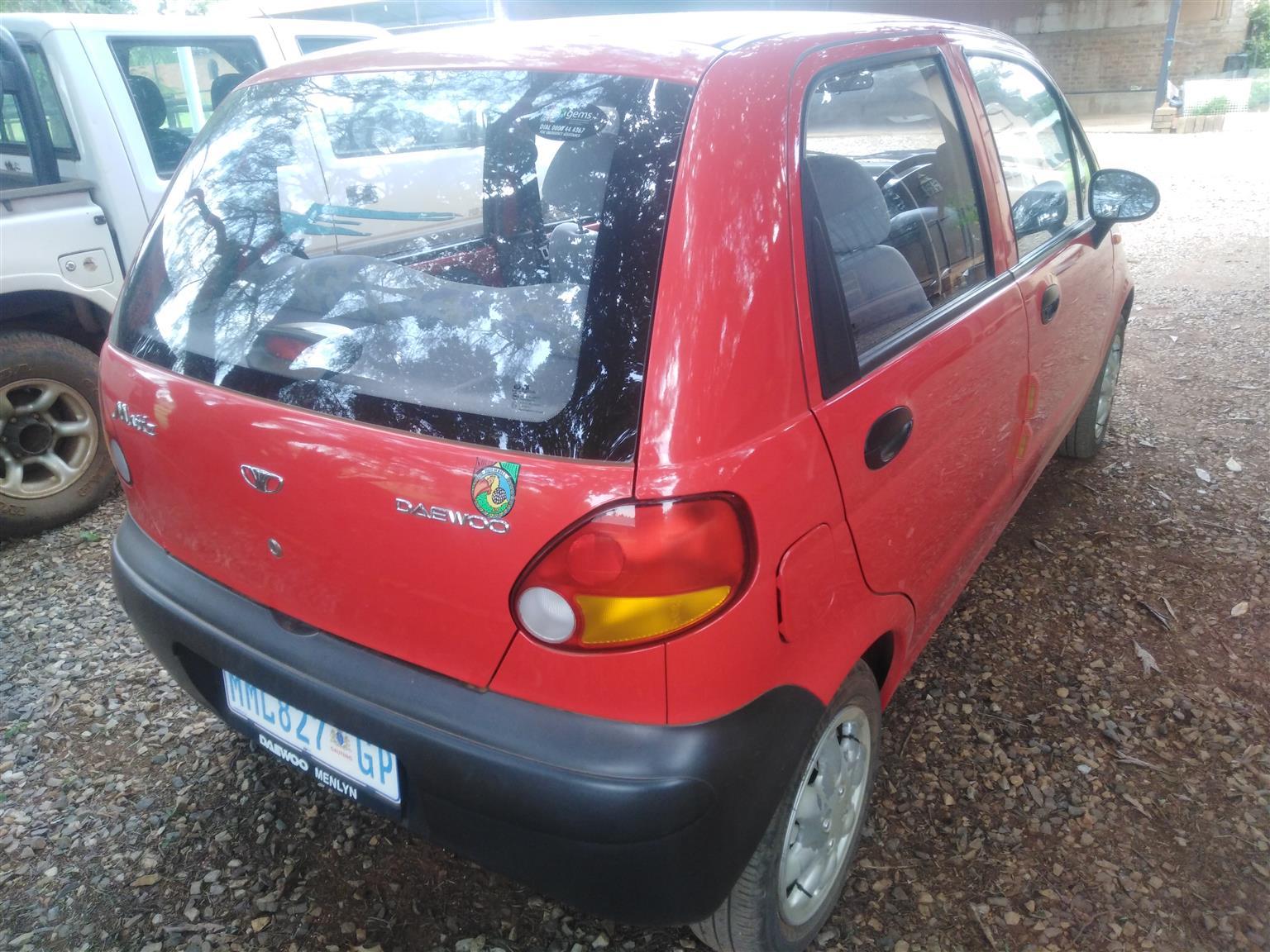 2001 Daewoo Matiz