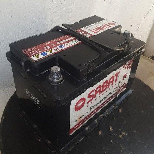 sabat car battery size 652 for sale