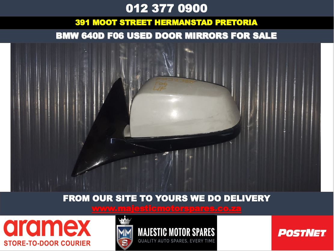 Bmw F06 640d used door mirrors for sale