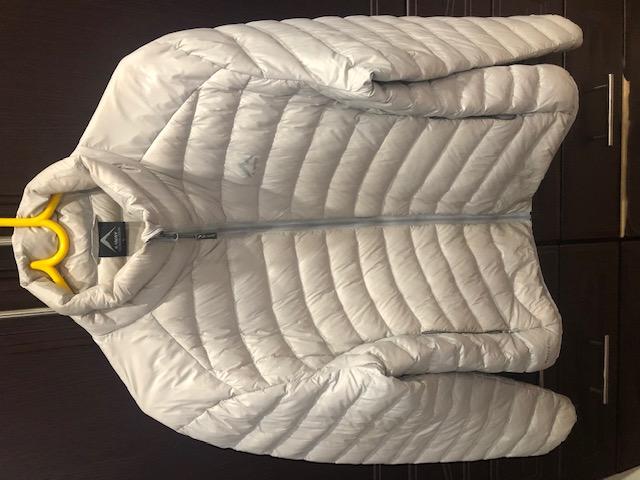 K-Way 650Bp Ladies Grey Jacket For Sale