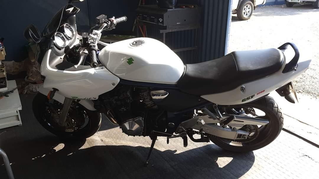 2003 (registered 2008) Suzuki GSF 1200 Bandit
