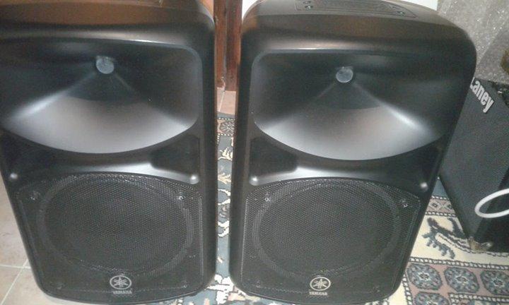 Yamaha Passive PA Speakers (Pair)