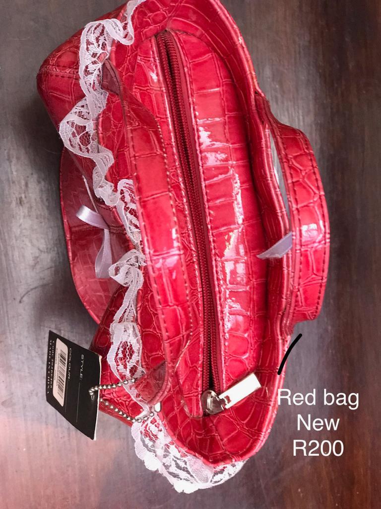 Pink / Red Bustier Bag