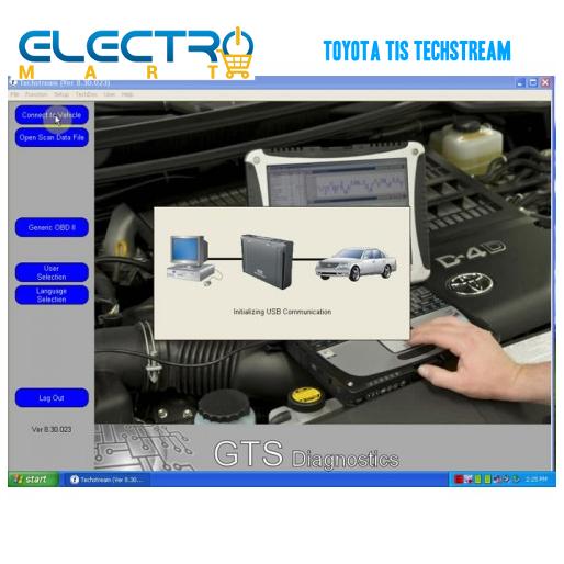Toyota TIS Techstream Auto Diagnostic Tool