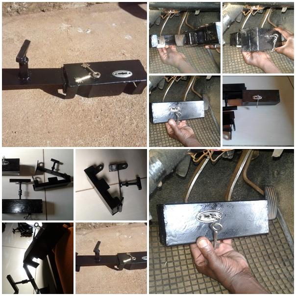 Best car anti-theft universal pedal lock