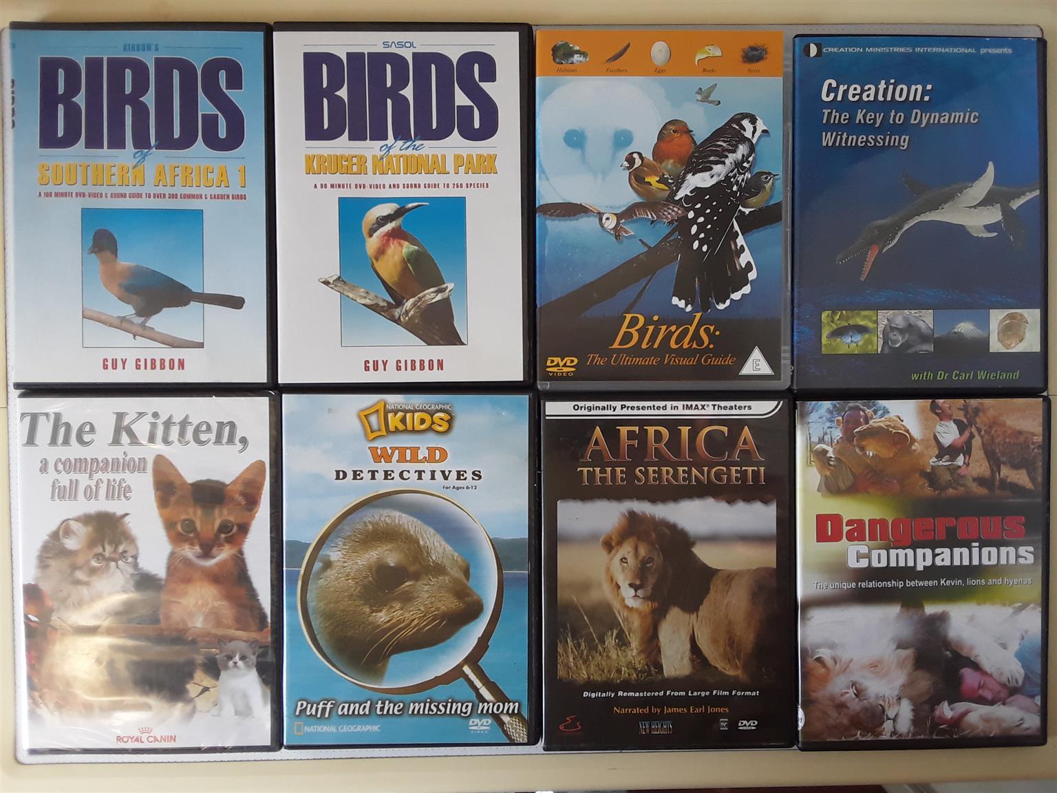 Animal Kingdom DVD  Collection.. I am in Orange Grove.