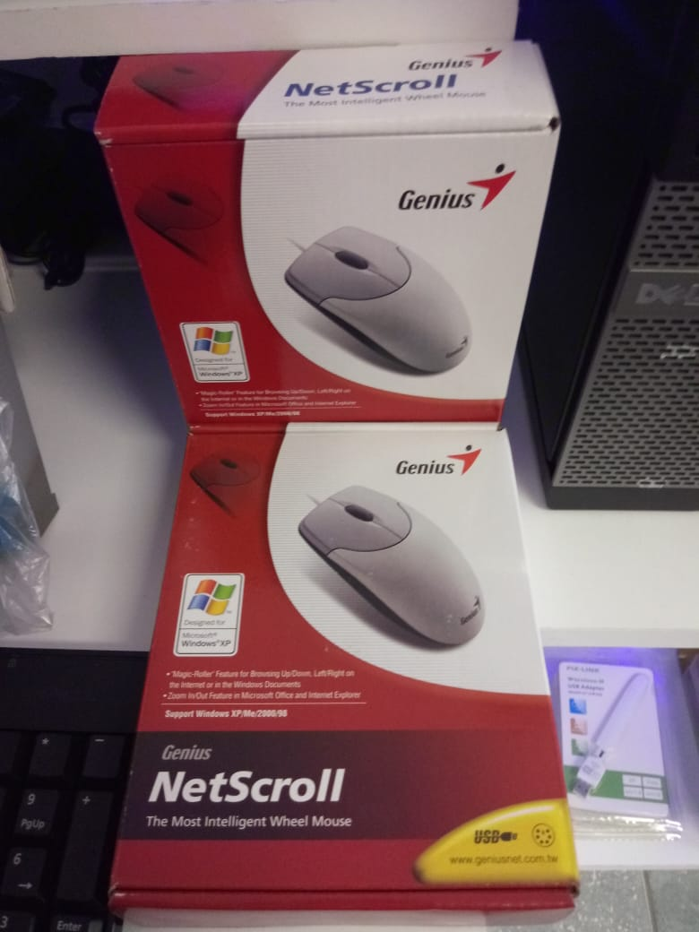 Genius NetScroll 110 Wired Optical Mouse