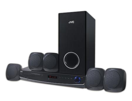 JVC  DVD HOME THEATRE SYSTEM TH-N767B