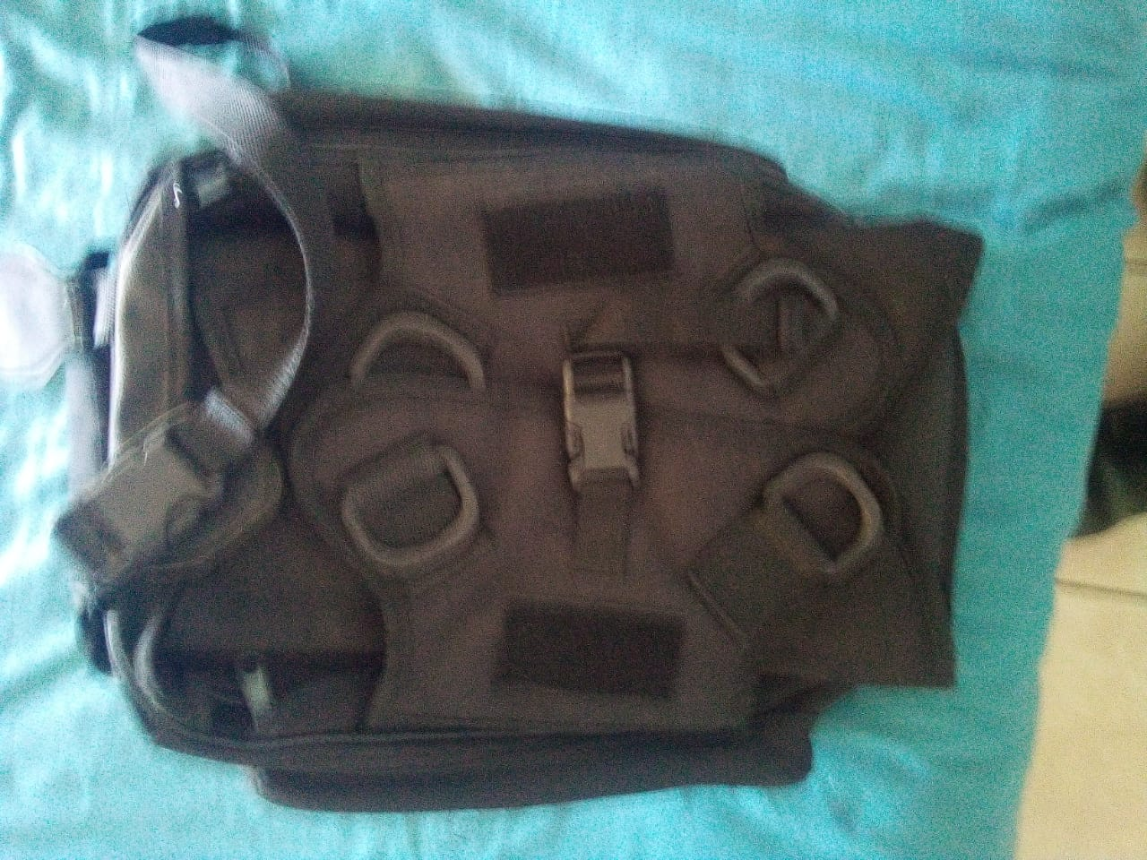 Oxfort 1 pro motorbike tank bag with strong magnets and waterproof see trough pouch