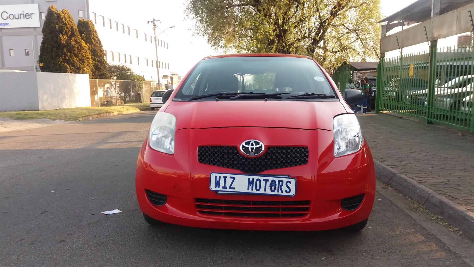 2008 Toyota Yaris 1.0 3 door T1 (aircon+CD)