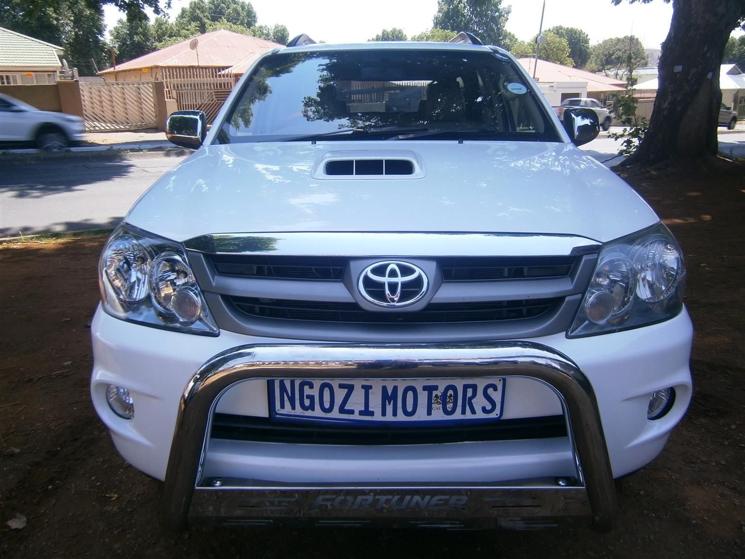 2007 Toyota Fortuner 3.0D 4D 4x4