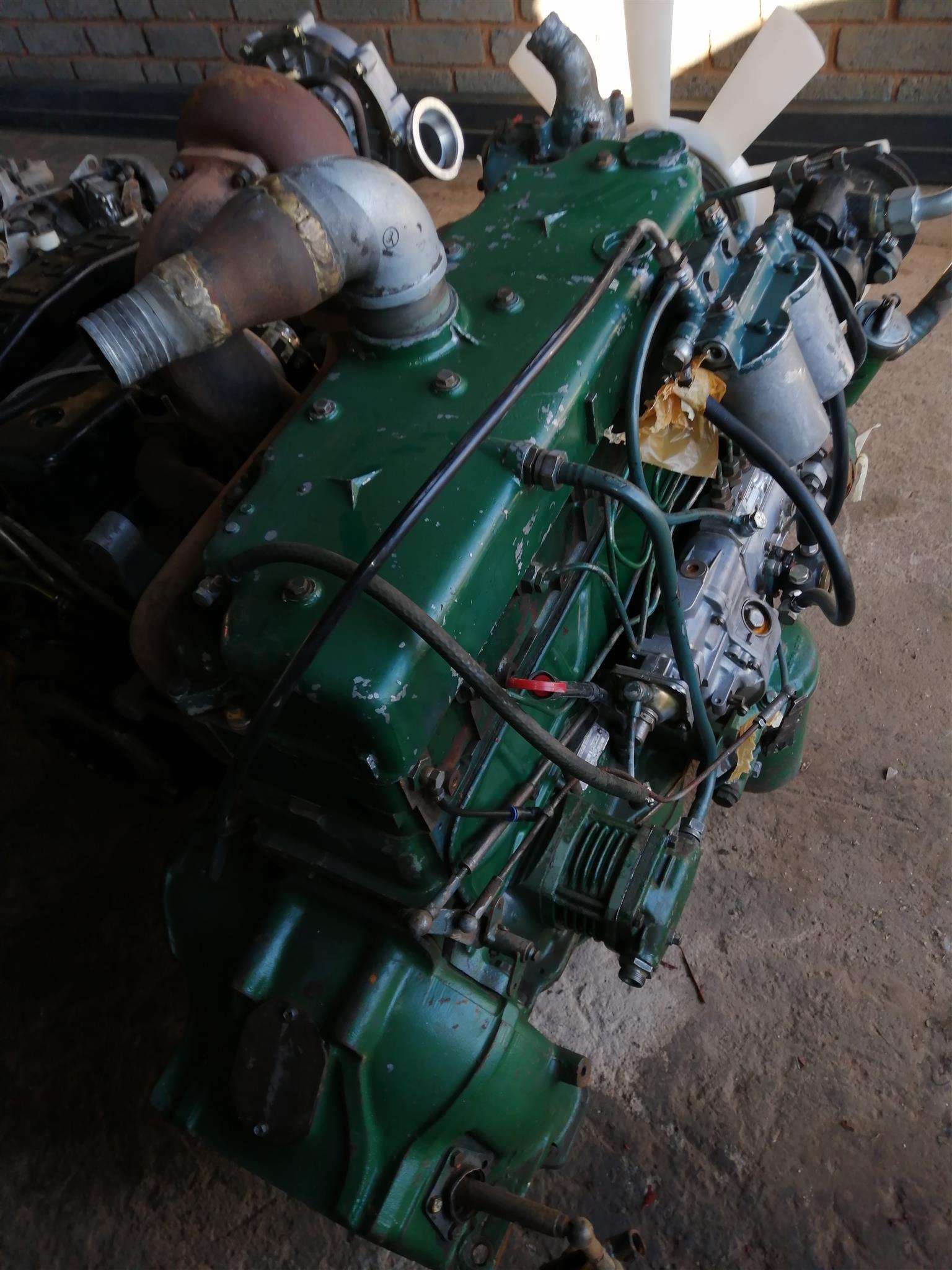 ADE 352 turbo engine complete