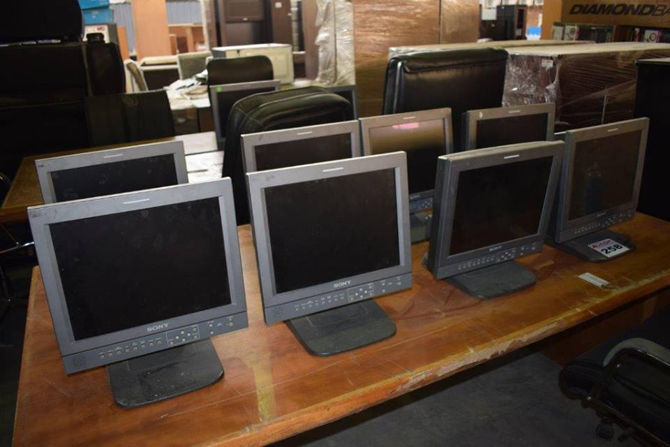 Various Sony monitors for sale