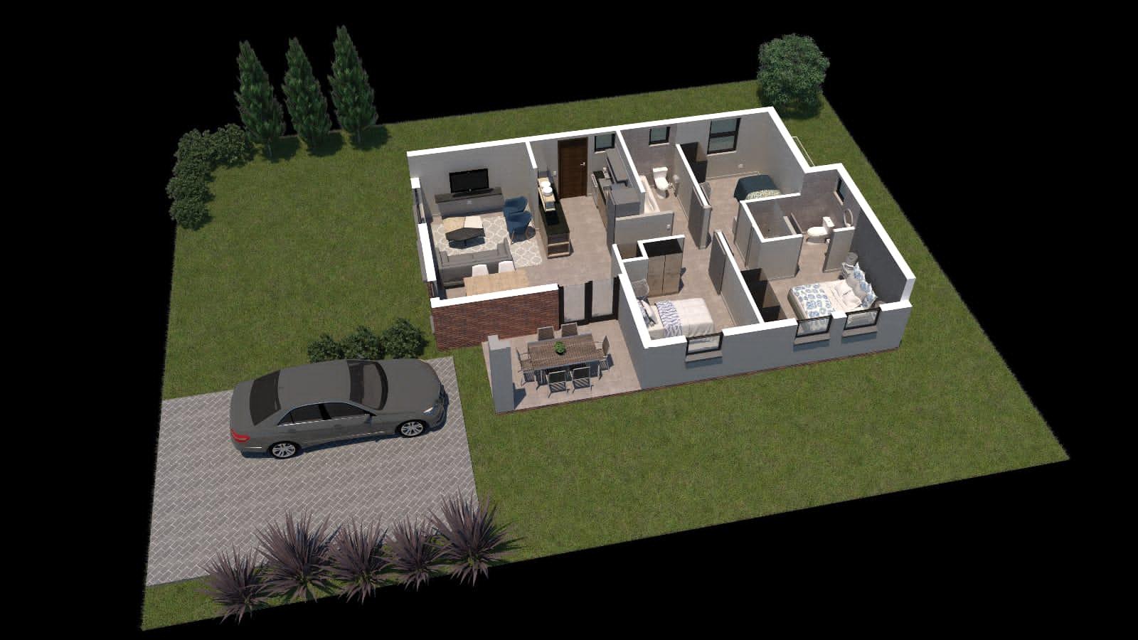 New modern homes in Danville Pretoria