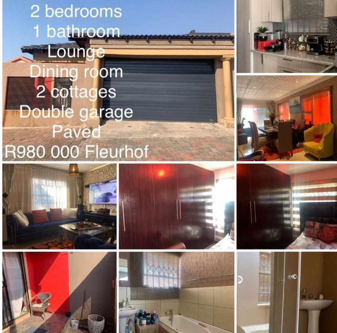 Amazing stand alone home , up FOR SALE in Fleurhof!!