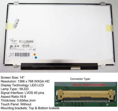 Acer aspire s3 screen Replacement