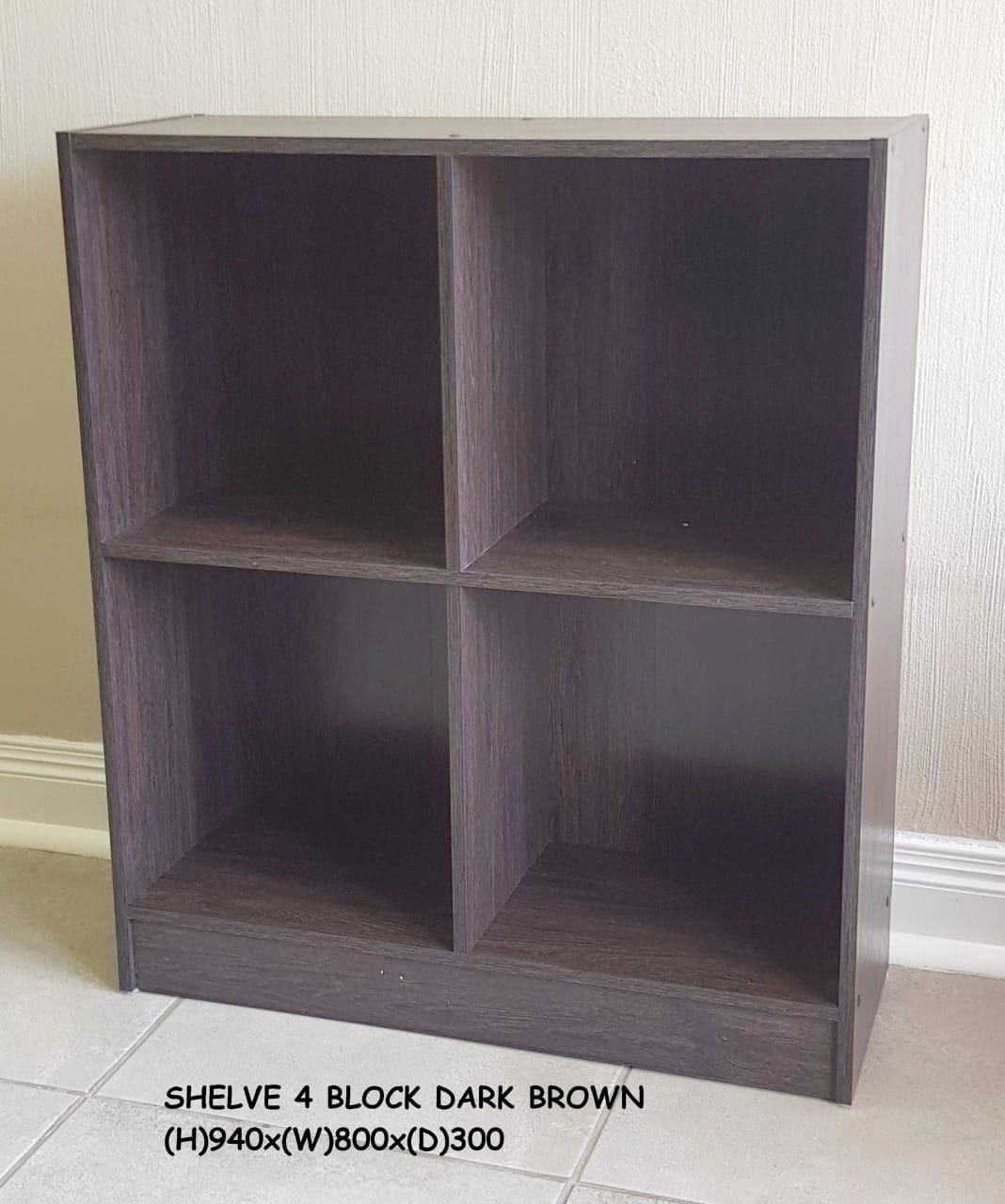 bookshelf 4 block