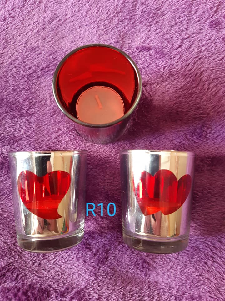 Heart bekers for sale