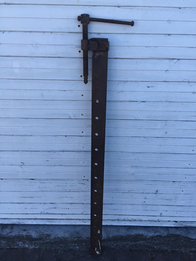 Vintage Large Heavy duty Wood clamp