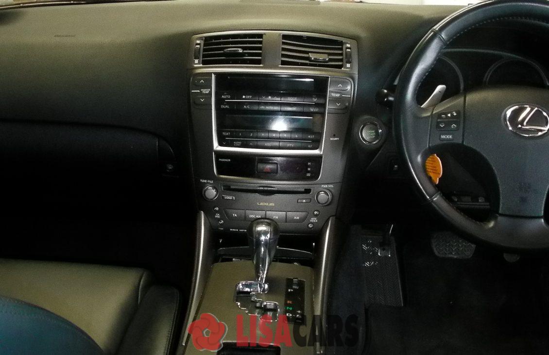 lexus is250 interior 2008