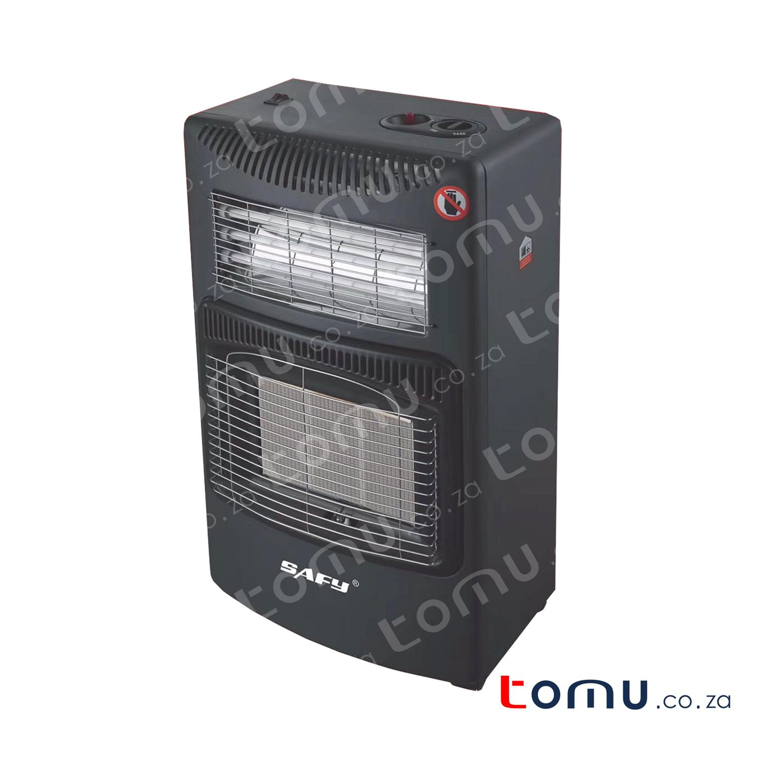 We have stock! SAFY Gas & Electric Heater