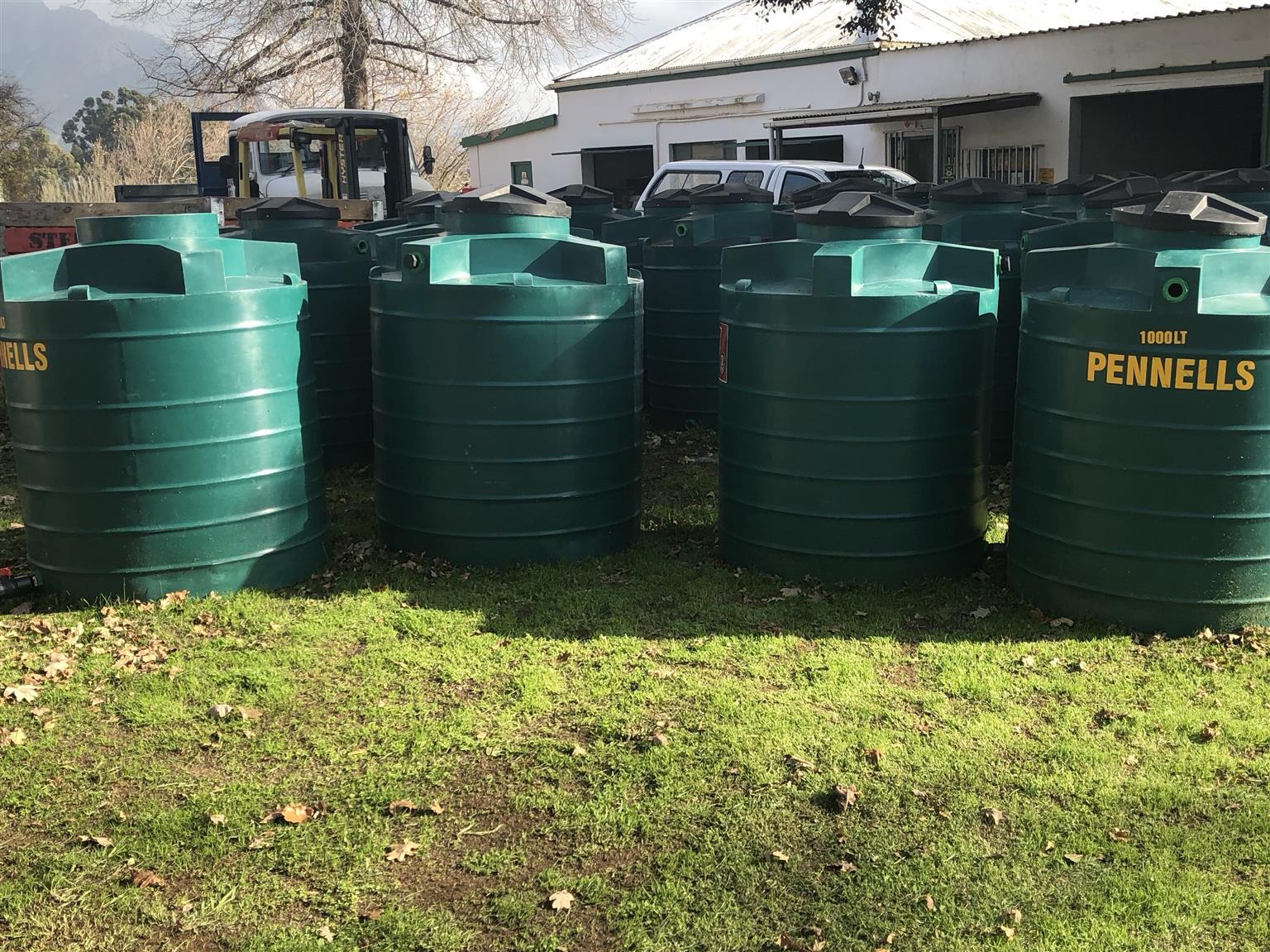 Water Tanks For Sale >> 1000l Water Tanks For Sale At Cost Junk Mail