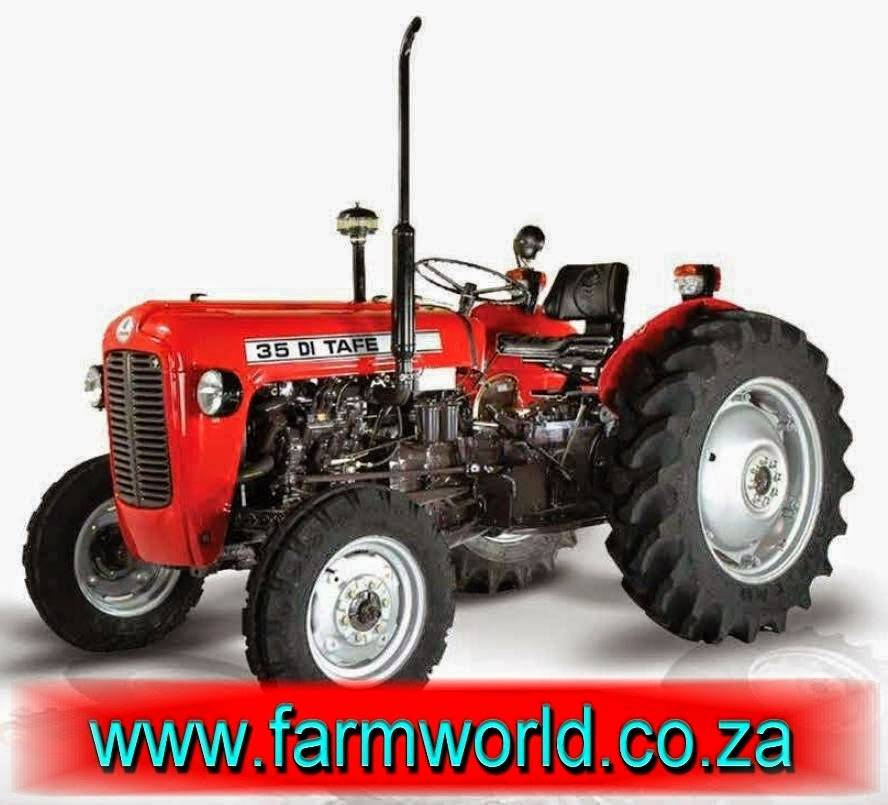 Red TAFE 35 DI 25kW/35Hp 2x4 New Tractor