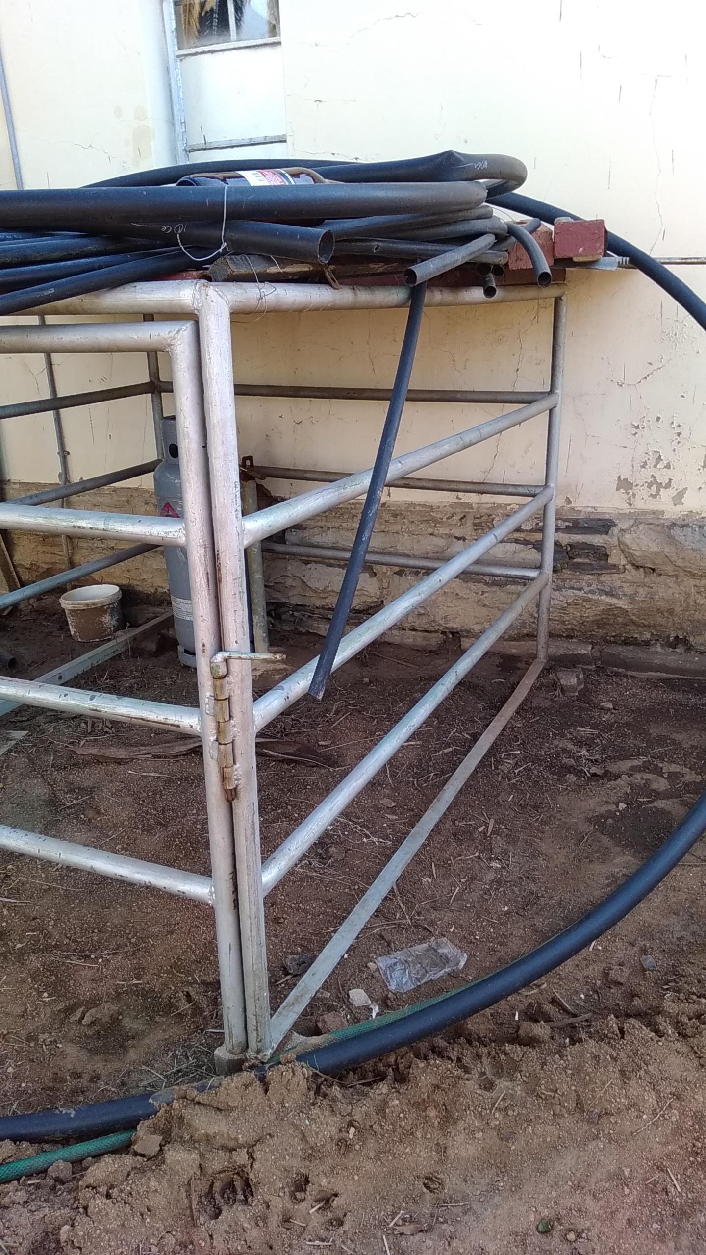 Steel frame for long base bakkie