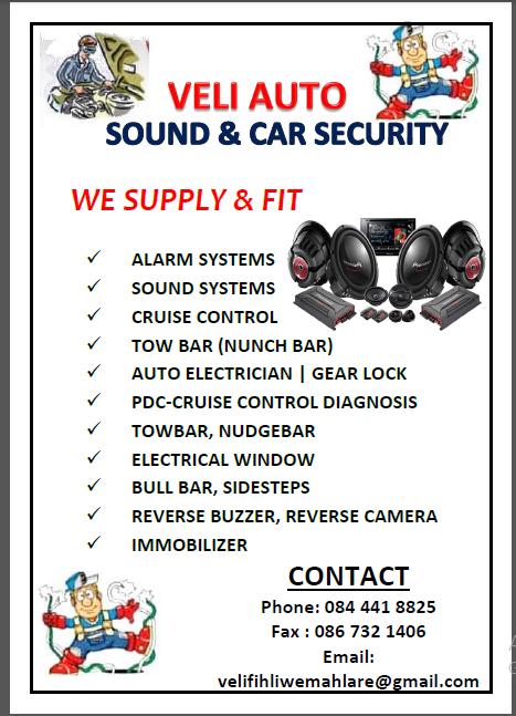 VELI AUTO SOUND & CAR SECURITY