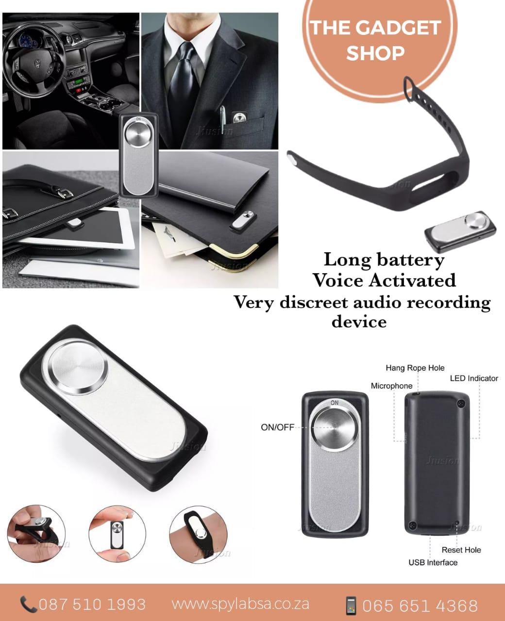 Bracelet / USB Voice Activated Recorders