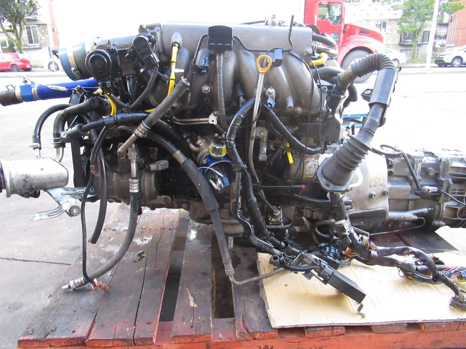 Jdm Toyota Supra 2jz Gte Twin Turbo Engine 6 Speed V161 Getrag Transmission Wiring Harness Auto