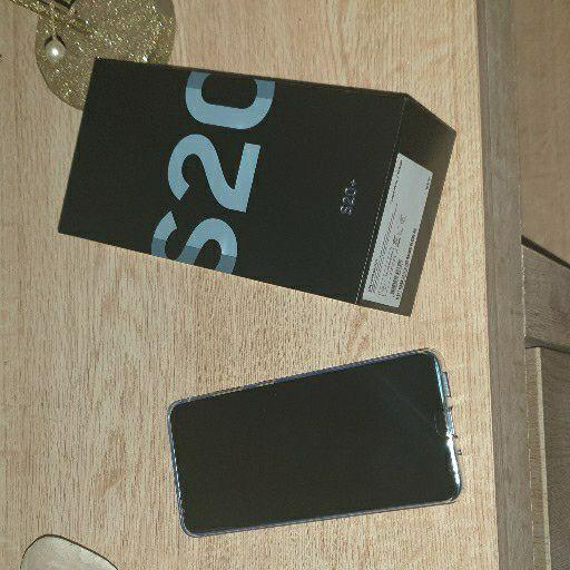 brand new s20plus blue