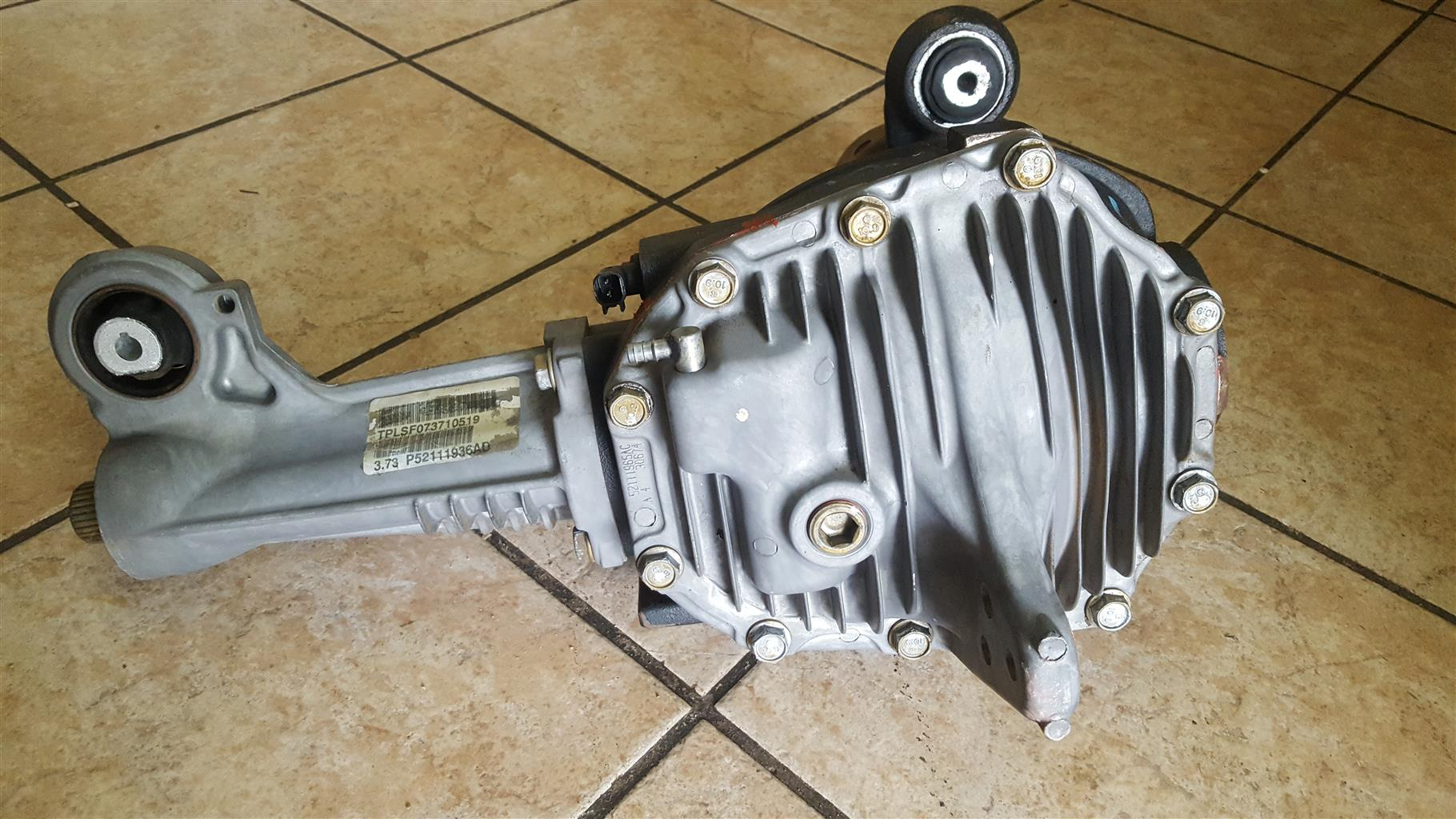 2010 Jeep 3.0 crd front diff