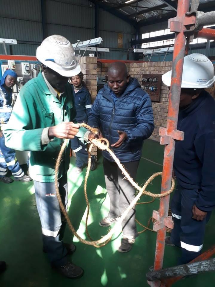 Agisanang SA Training