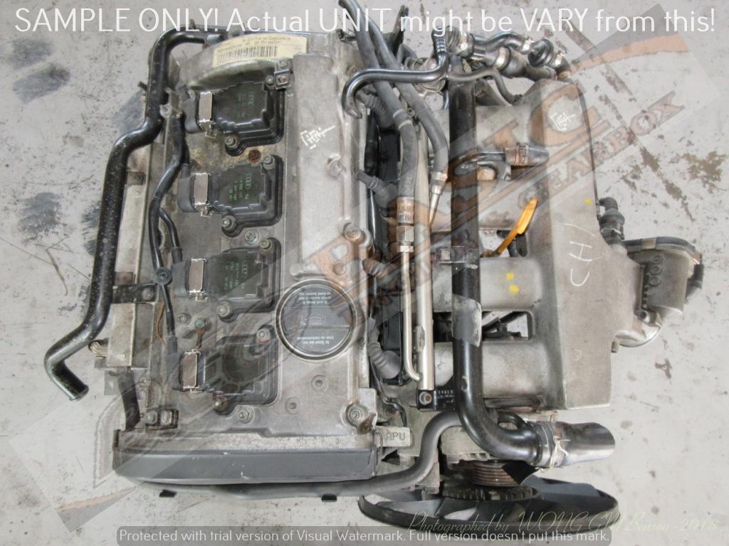 VOLKSWAGEN PASSAT 4 -APU 1.8L TURBO 20V Engine