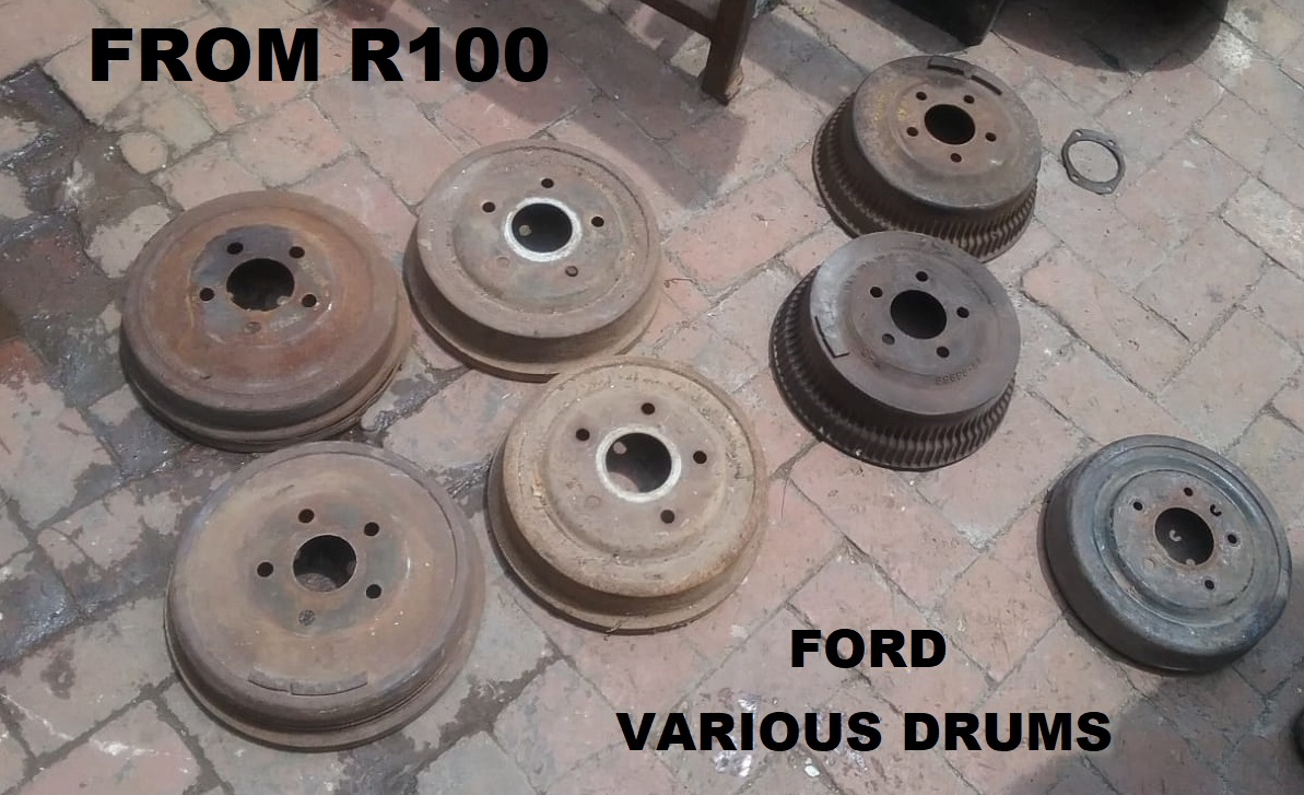 VARIOUS FORD DRUMS FROM R 100.00