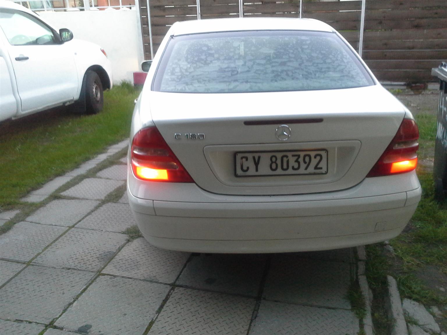 2001 Mercedes Benz 180C