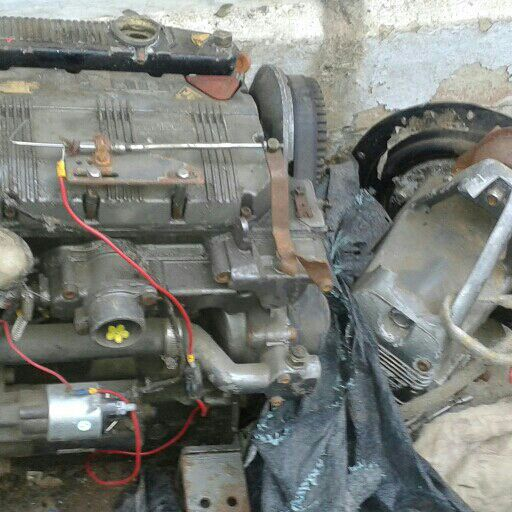 Salvaged Yacht and Gearbox Motor