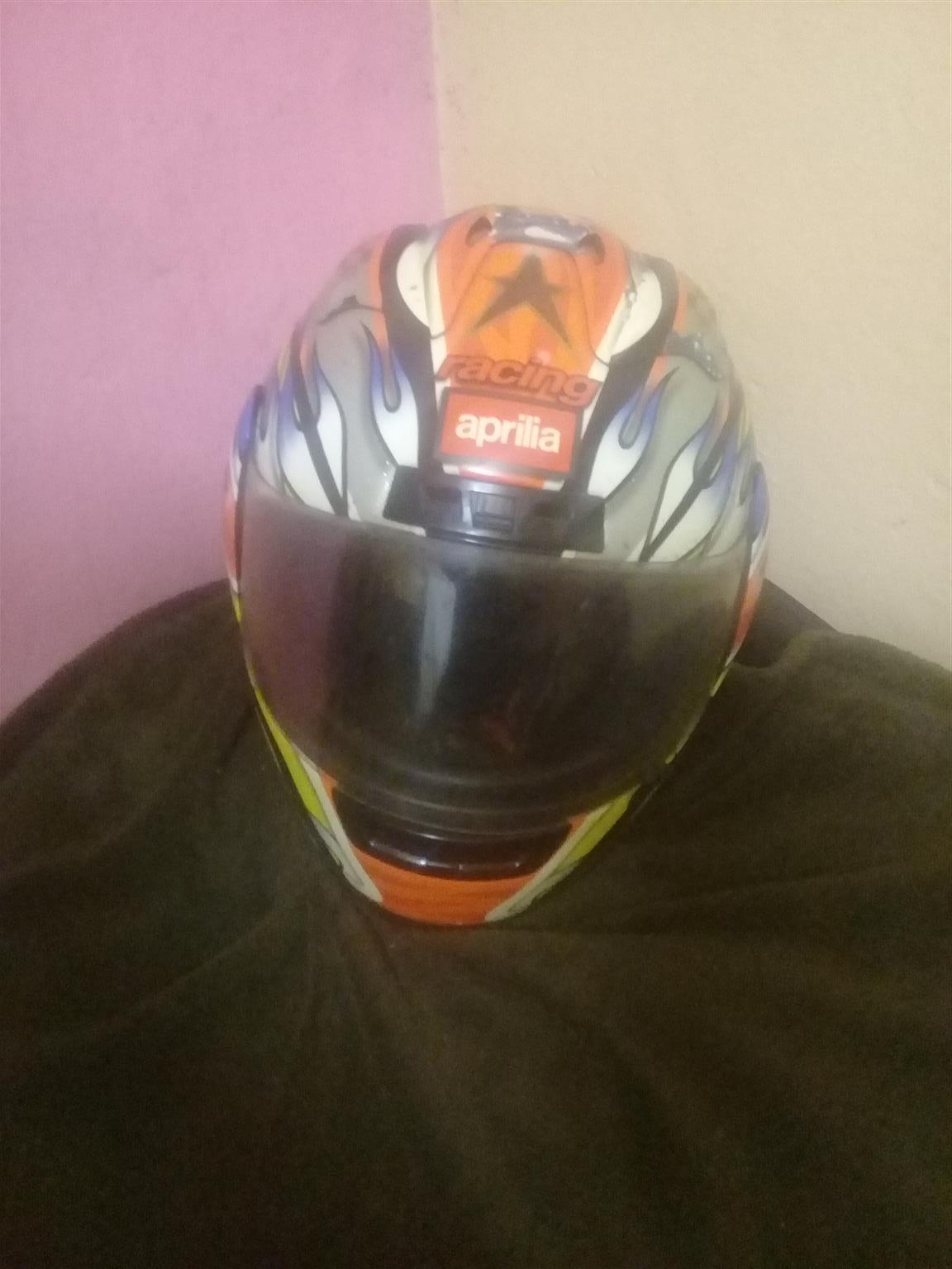 Aprilia Helmet for sale.