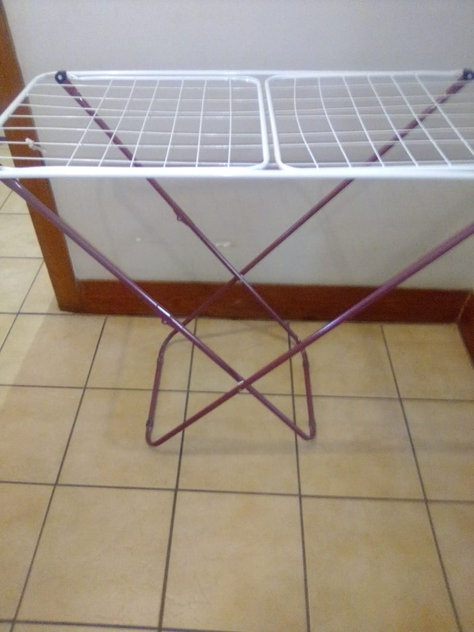 Selling ironing board and clothing dry rack combo: R300