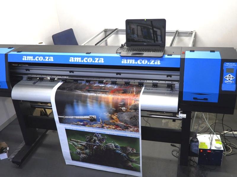 R2195/m F1-1604D/HYBRID Large Format Printer Rental: FastCOLOUR ONE 1600mm Hybrid UV Large