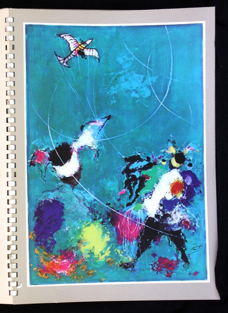 Otto Nielsen SAS Airlines Calendars 1959 and 1960