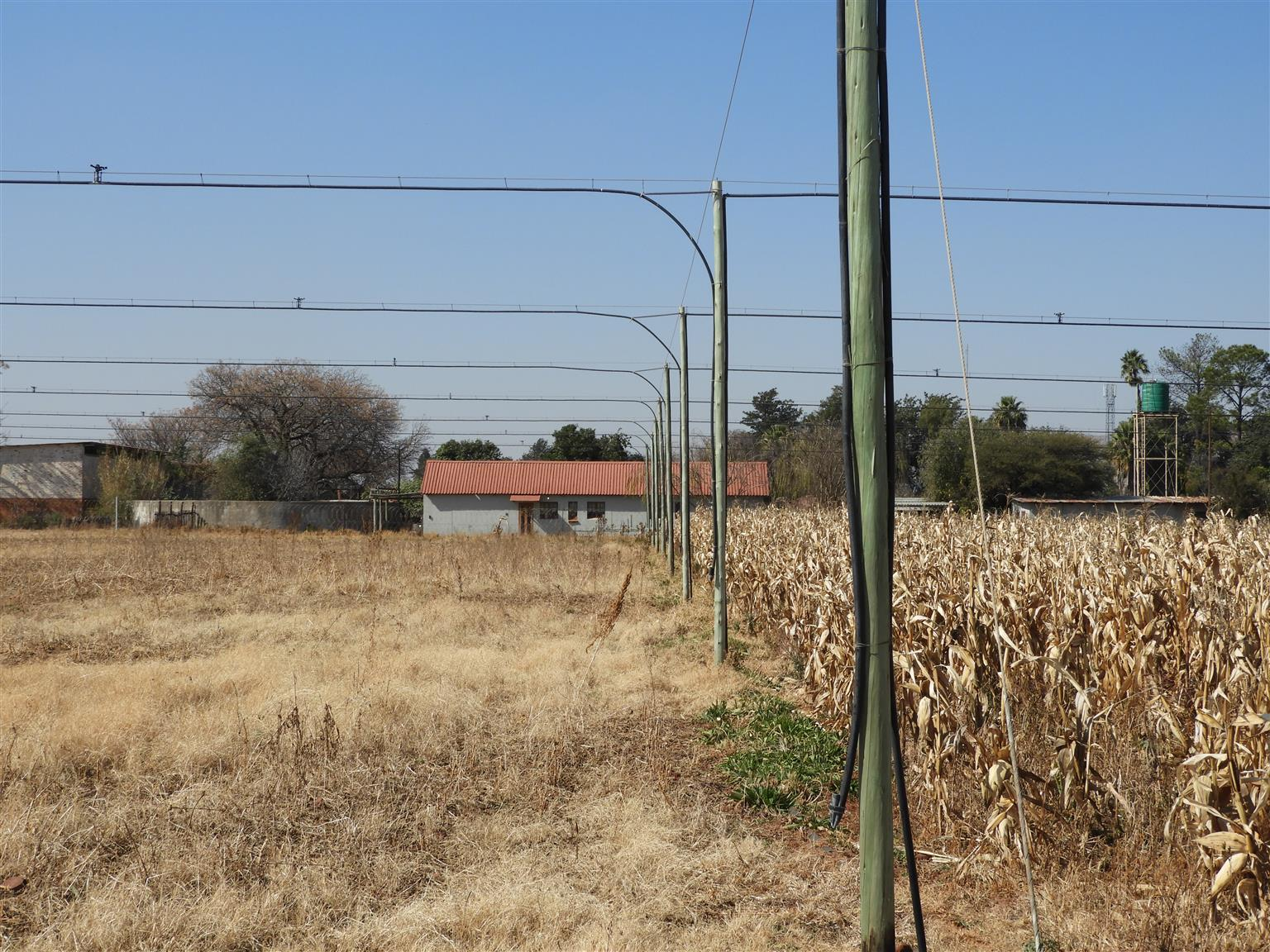 Water rich plot with good rental income for sale