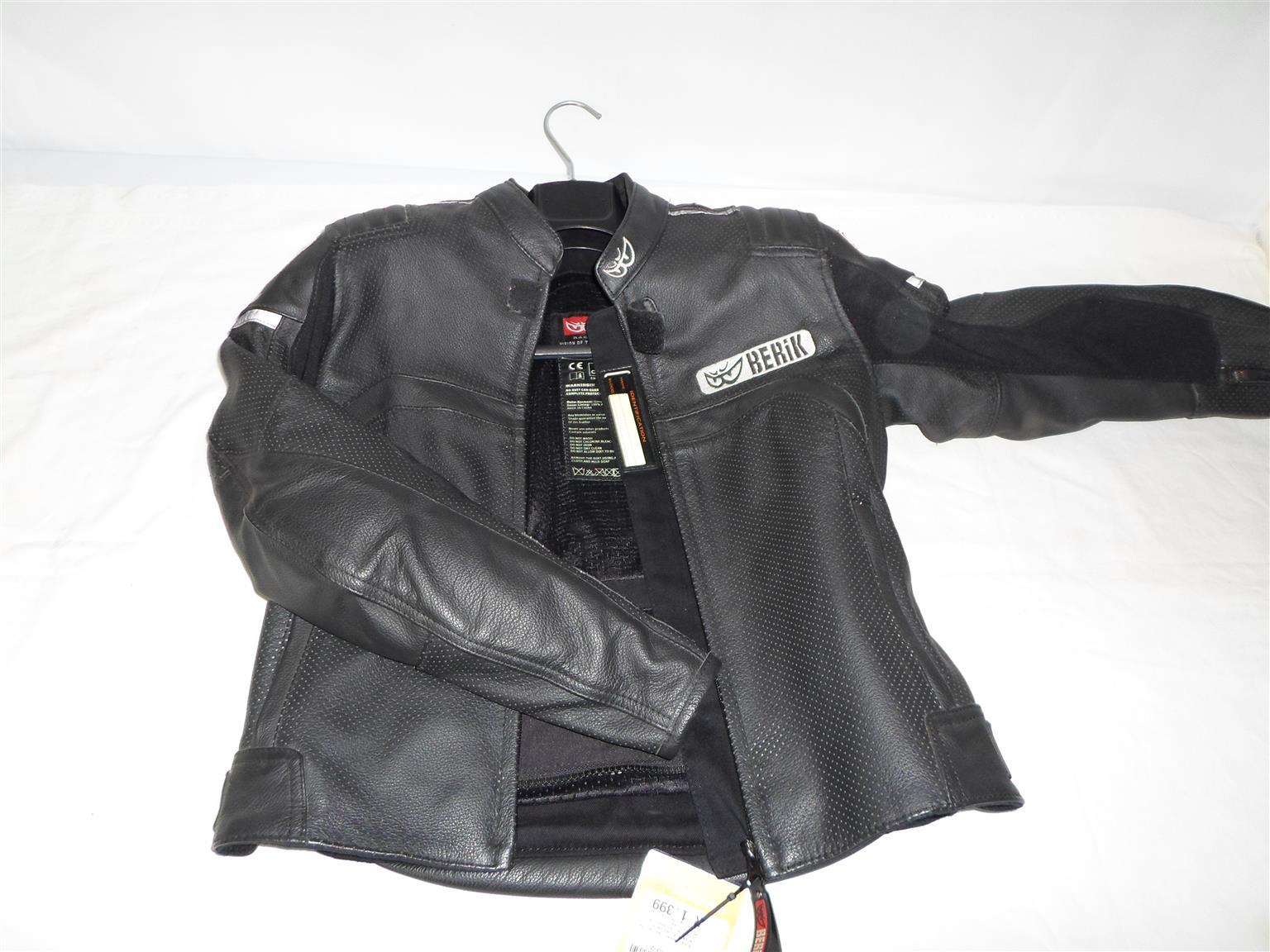 Size 38 Berik Leather Jacket