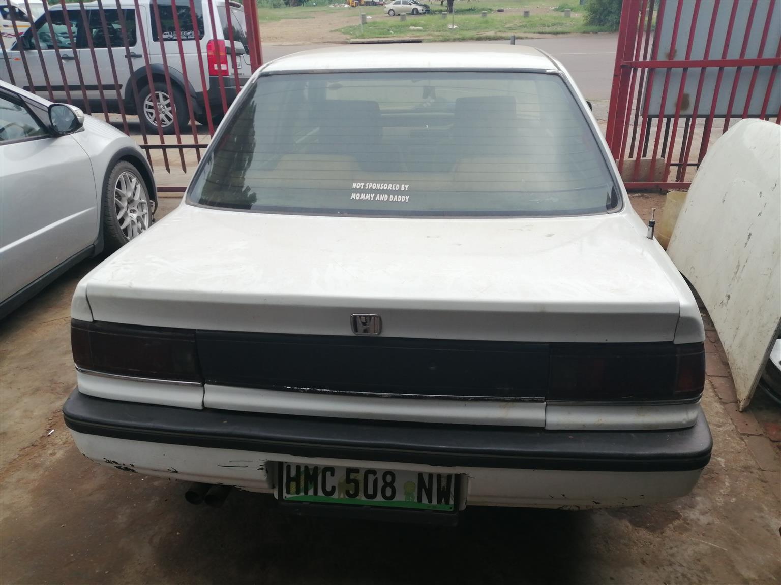 1984 Honda Ballade 1.5 Elegance